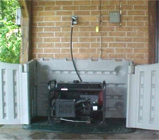 Generator Emergency Electrical Backup Power And Transfer